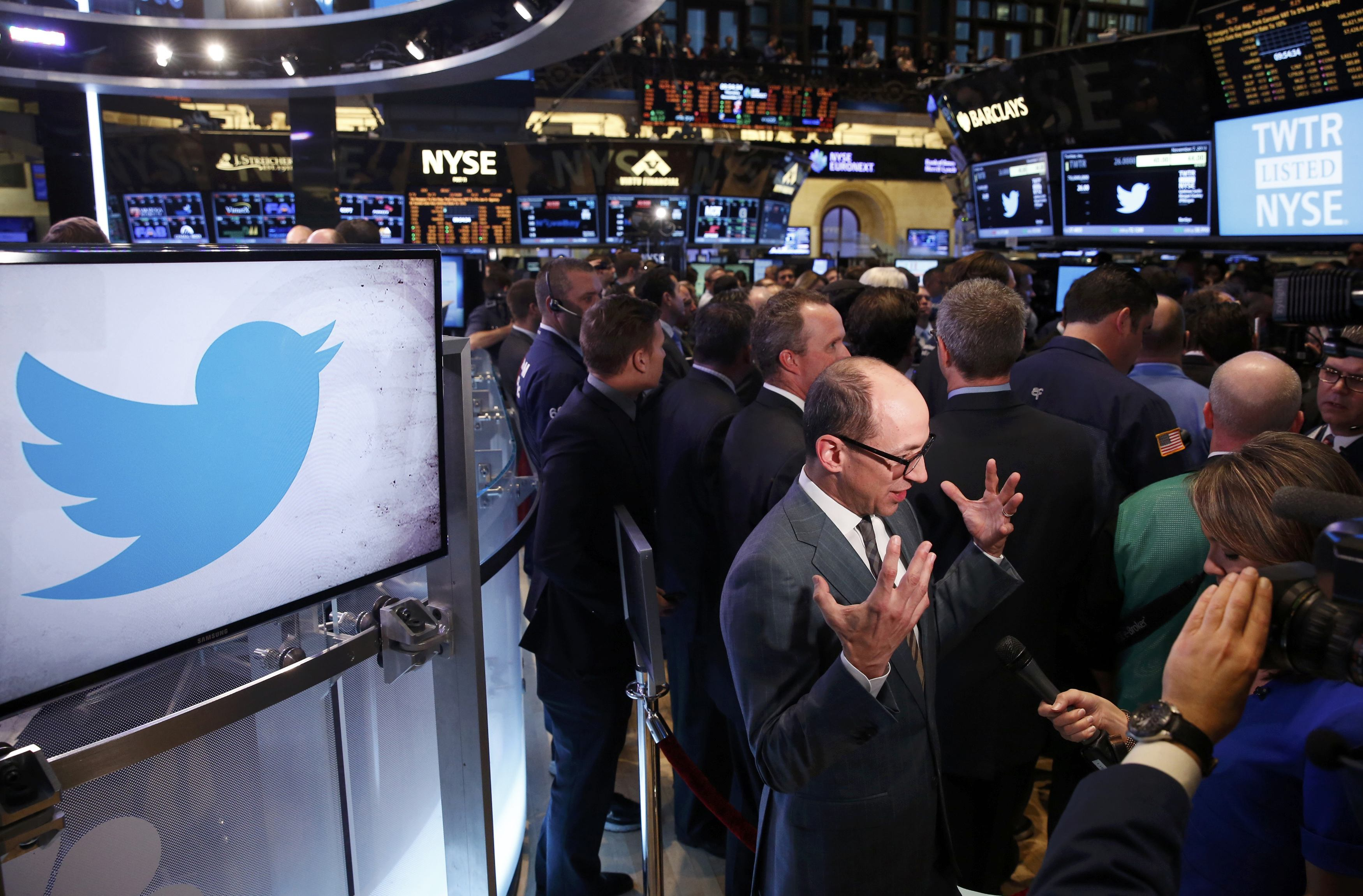Twitter Inc. (TWTR – NYSE) lost because of the number of ...
