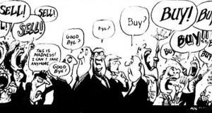Stock Market Cartoon