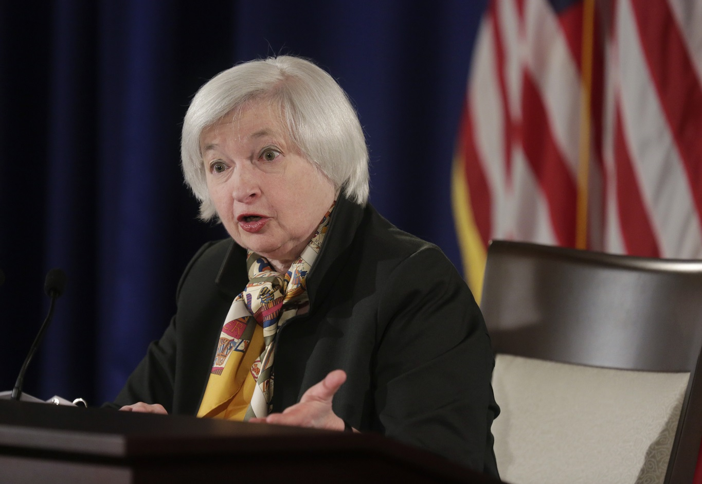 Yellen to battle the 'dark side'