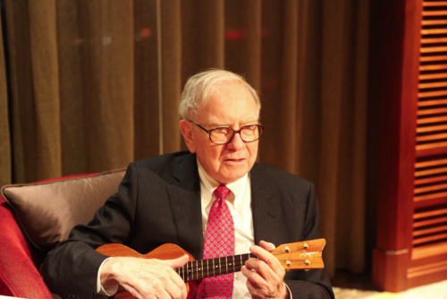 buffett singing