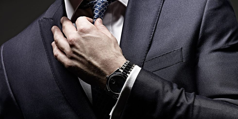 10 rules about the man suits