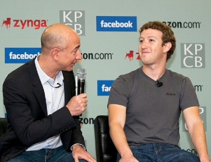 Image result for zuckerberg and bezos