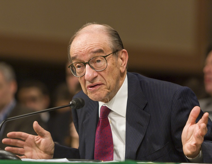 Image result for Alan Greenspan