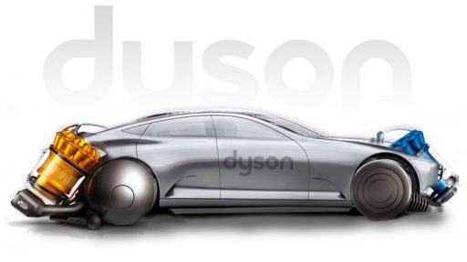 Dyson's electric car