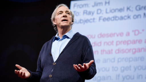 Ray Dalio on TED talks