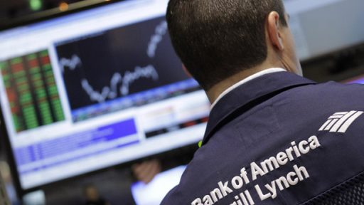 Bank of America-Merrill Lynch trader