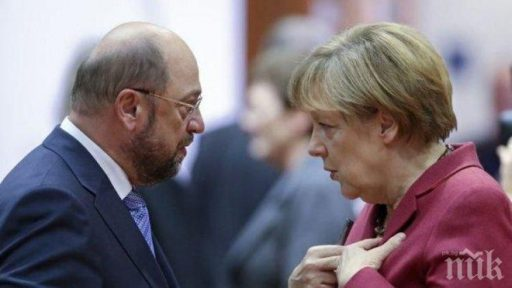 Martin Schulz pouring cold water on investors hype