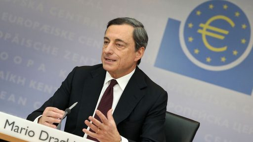 Mari Draghi speak in ECB