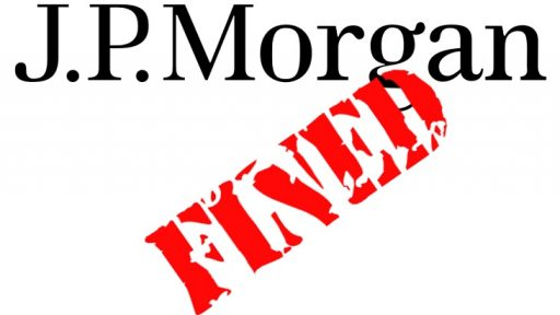 J.P. morgan fined by FINRA