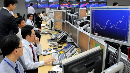South Korea Bank Traders
