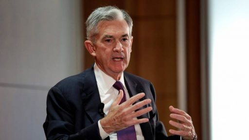 Powell is FOR blockchain and against BTC