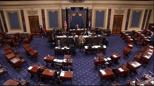Us Senate floor