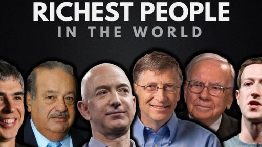 Richest persons in the world