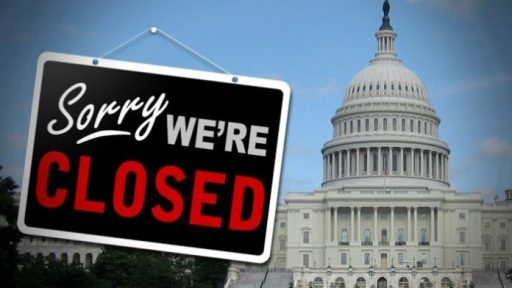 U.S government shuts down