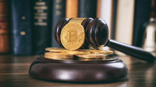 Crypto under court hammer