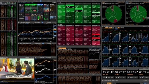 Bloomberg Pro Terminal Interface