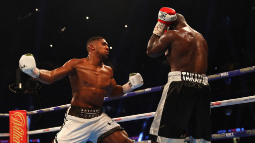 Joshua is aiming at UFC
