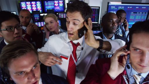 Trading Pit Wall Street