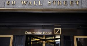 Deutsche bank is moving out from Wall street