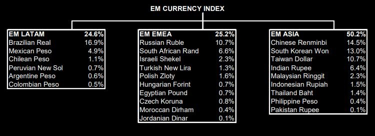 EM Currency Weights