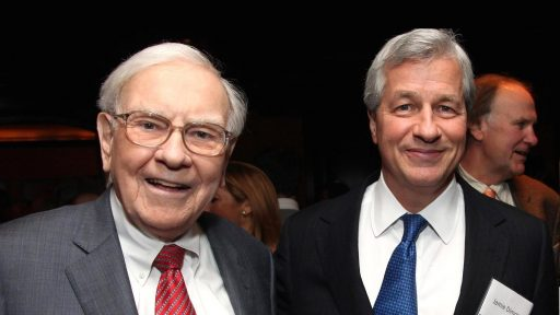 Warren Buffet and jamie Dimon