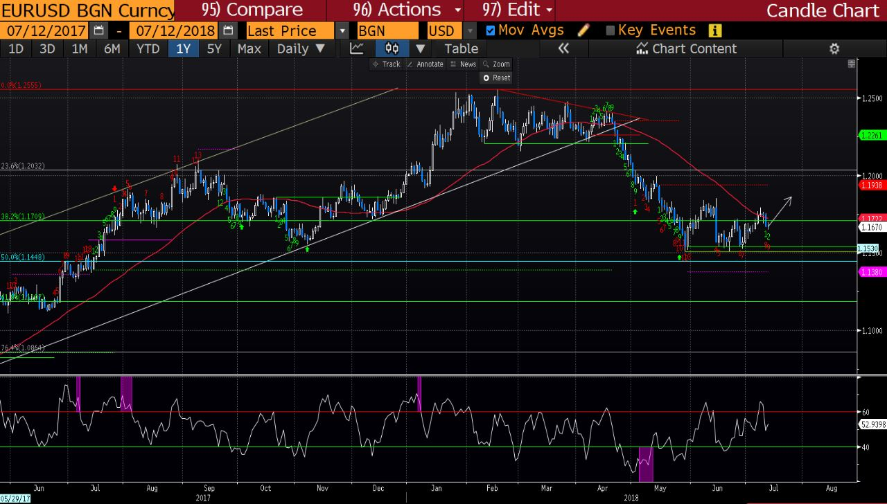 ING Bank EUR/USD expectations