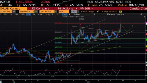 Varchev Finance - USD/RUB expectations