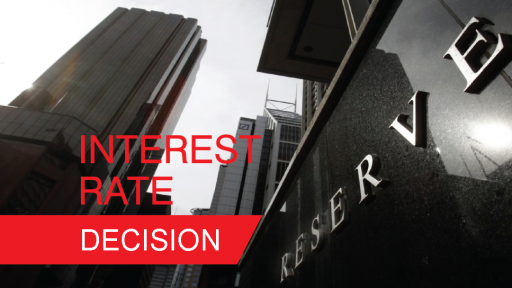 RBA interest rate decision