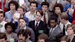 Stock Brokers look sadly