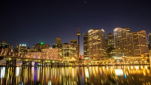 Darling Harbour Sydney Australia